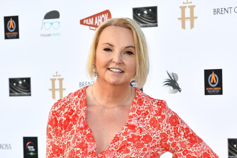 India Willoughby, the transgender national TV newsreader, had previously agreed to appear weekly on the news channel as a panel commentator on Tonight Live with Dan Wootton (Gareth Cattermole/Getty Images)