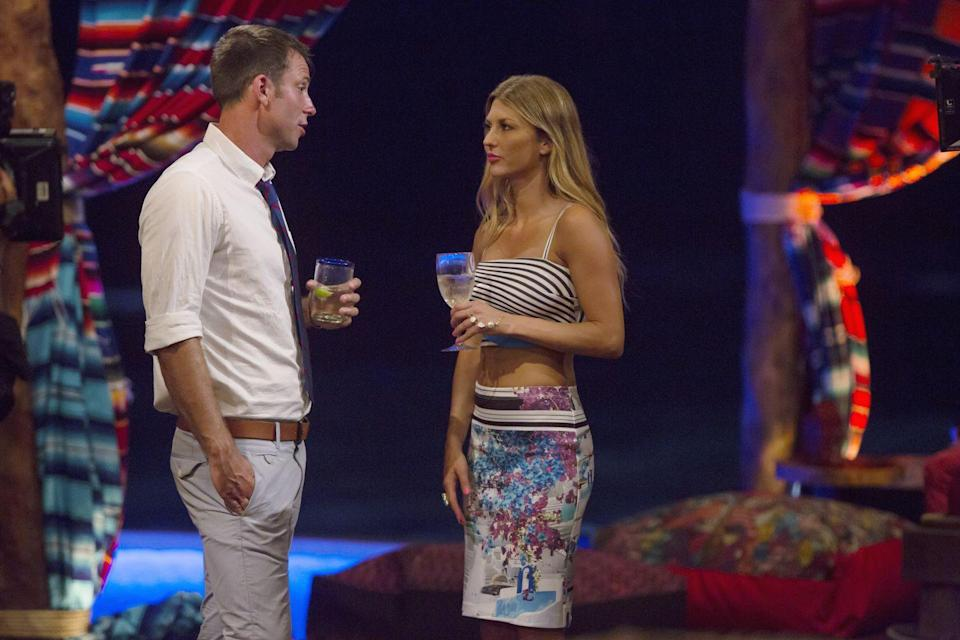 <p>AshLee and Graham's relationship served up major drama in season 1. The couple appeared strong at first, but after castmate Michelle Money pulled Graham aside and told him she thought AshLee was fake and had ulterior motives, he broke things off. </p>