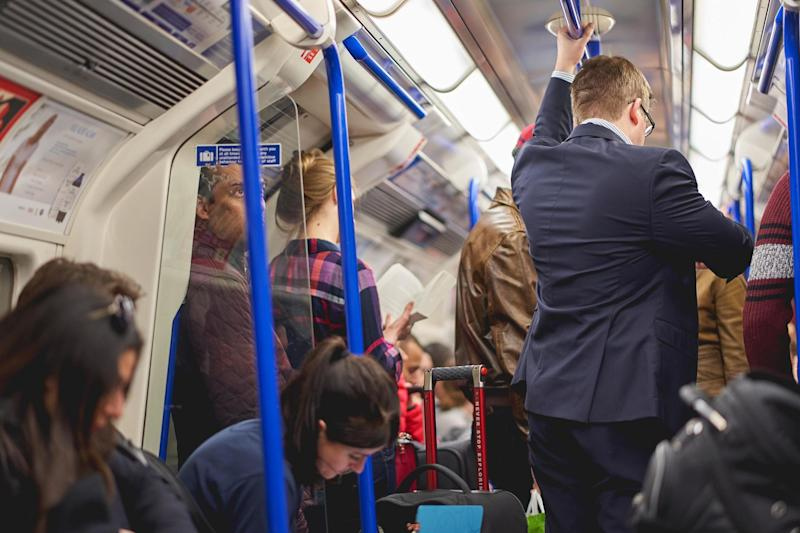 The Central line, which has no CCTV on its trains, saw the most sexual assaults: Getty