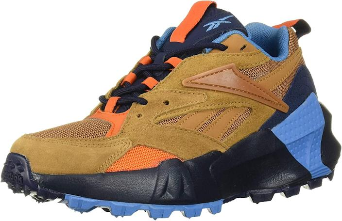 "<br> <br> <strong>Reebok</strong> Aztrek Double Mix Trail Sneaker, $, available at <a href=""https://amzn.to/3mCeQwj"" rel=""nofollow noopener"" target=""_blank"" data-ylk=""slk:Amazon"" class=""link rapid-noclick-resp"">Amazon</a>"