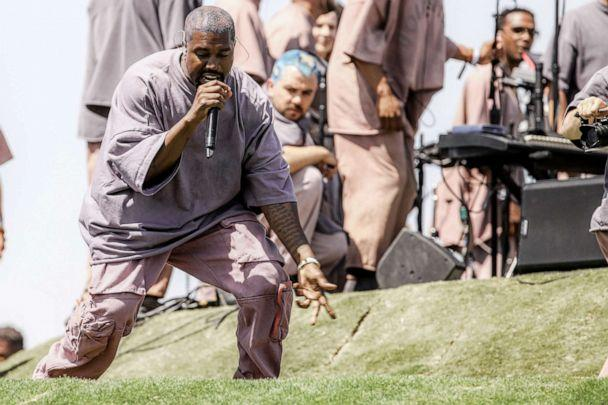 PHOTO: INDIO, CALIFORNIA - APRIL 21: Kanye West performs Sunday Service during the 2019 Coachella Valley Music And Arts Festival on April 21, 2019 in Indio, California. (Photo by Rich Fury/Getty Images for Coachella) (Rich Fury/Getty Images for Coachella)