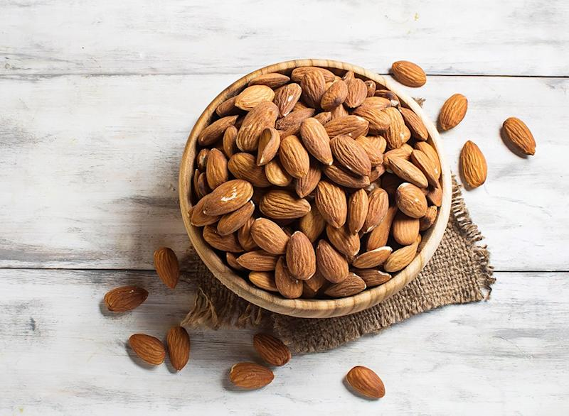 best high protein foods for weight loss - almonds