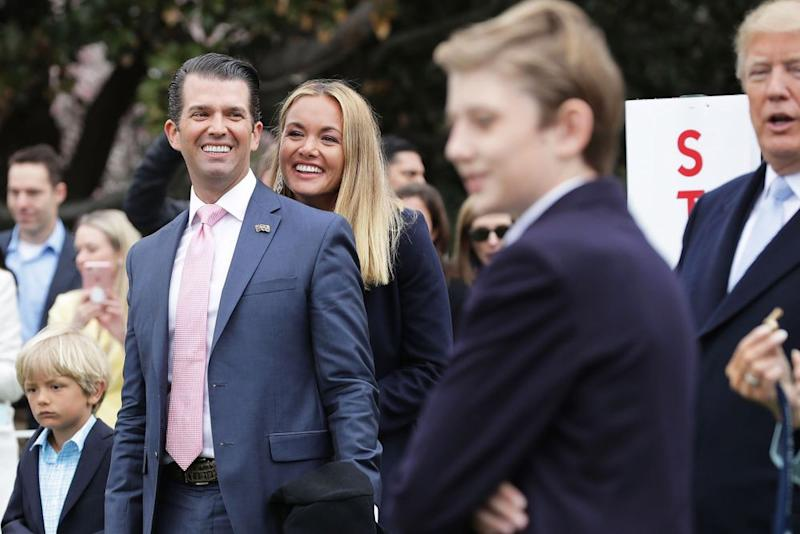 Donald Trump Jr. and Vanessa