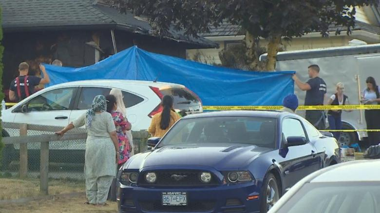 Man killed in garage explosion in Abbotsford