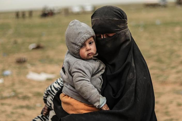 The population at the Al-Hol camp holding those who have fled the last Islamic State group holdout in Syria has risen above 50,000 (AFP Photo/Delil SOULEIMAN)