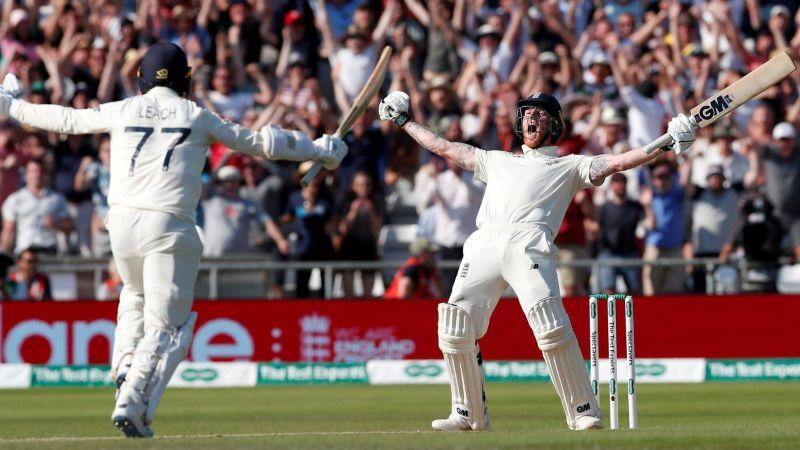 Ben Stokes lets out his emotions after waging a lone battle to keep the series alive