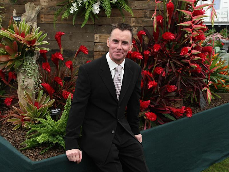 Gary Rhodes at Chelsea Flower Show in 2018: Photo by Chris Jackson/Getty Images