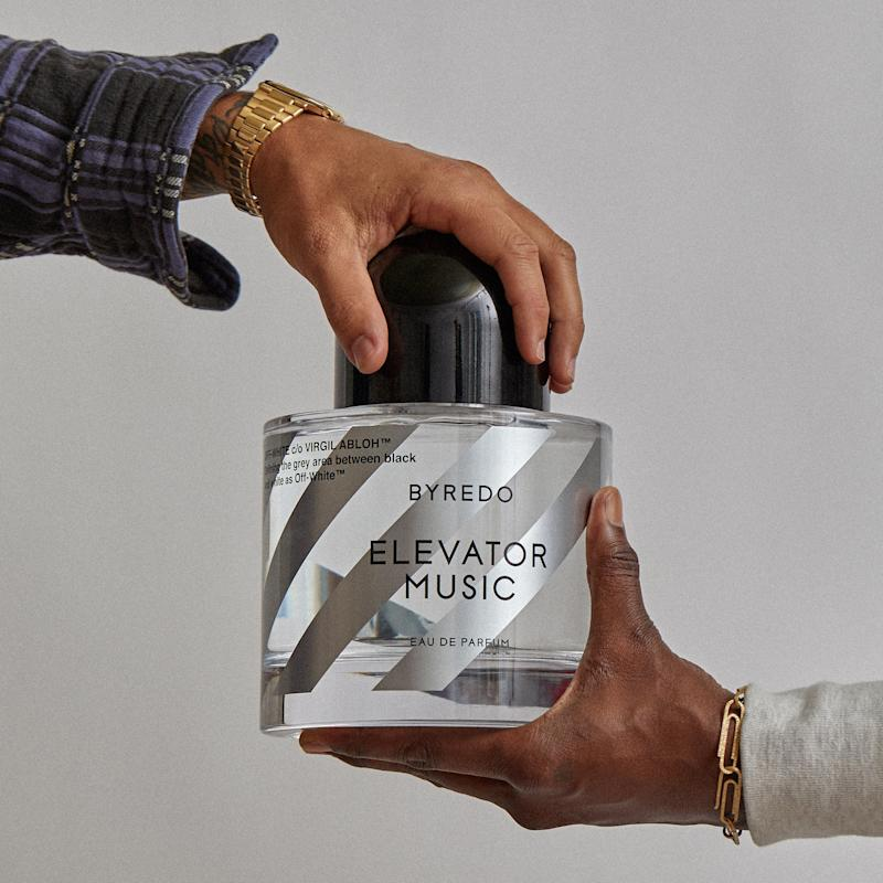 99e1098659d0 Off White and Byredo Just Launched a Perfume Called Elevator Music—and It s  Already a Cult Obsession