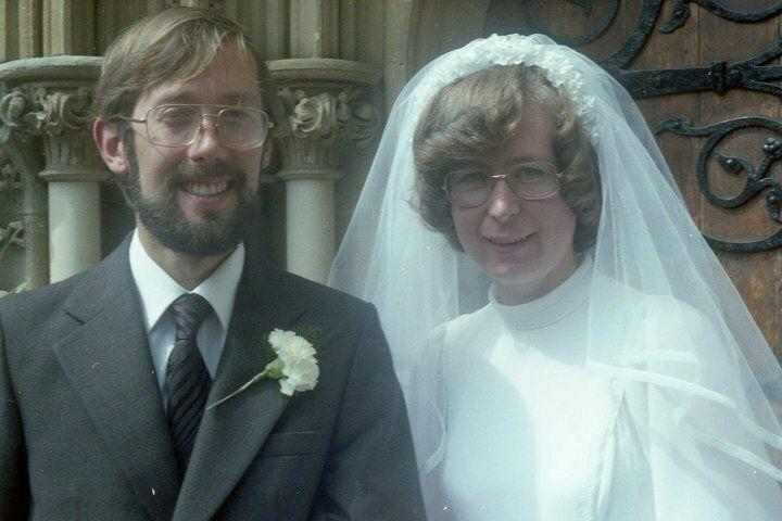 My mum and dad's wedding in Bristol in August 1979 (Photo: HuffPost UK)