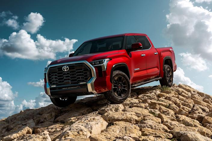 Toyota completely redesigned the Toyota Tundra full-size pickup for the 2022 model year.