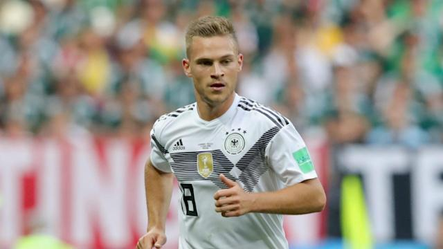Joshua Kimmich believes a lack of competitive match sharpness was to blame for Germany's World Cup opener defeat to Mexico.
