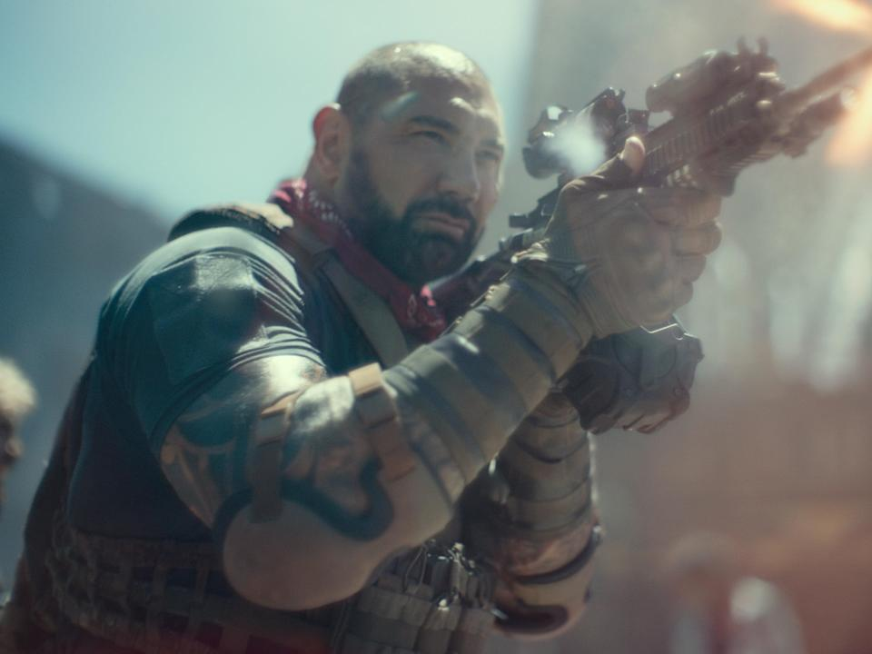 Dave Bautista in Army of the Dead (NETFLIX)