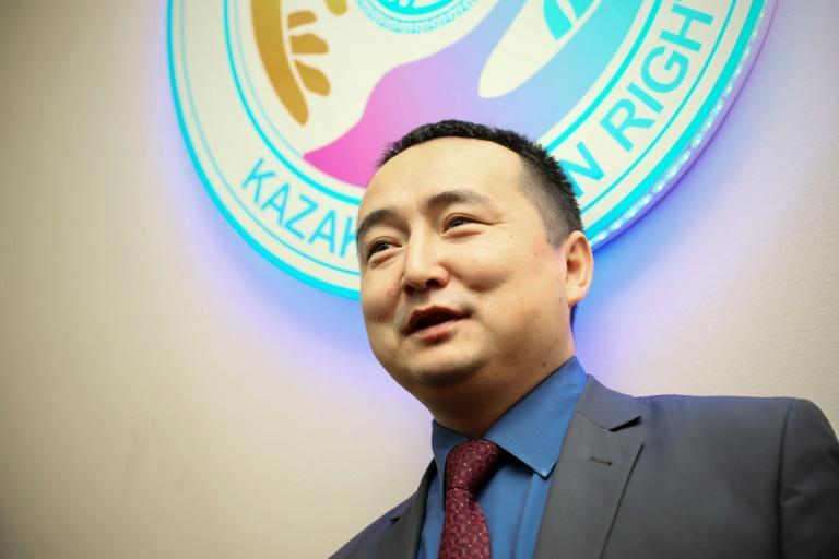 Serikjan Bilash, who campaigned in defence of Muslim and Turkic minorities in Xinjiang, says he struck a plea bargain with the court that will end his activism (AFP Photo/Ruslan PRYANIKOV)
