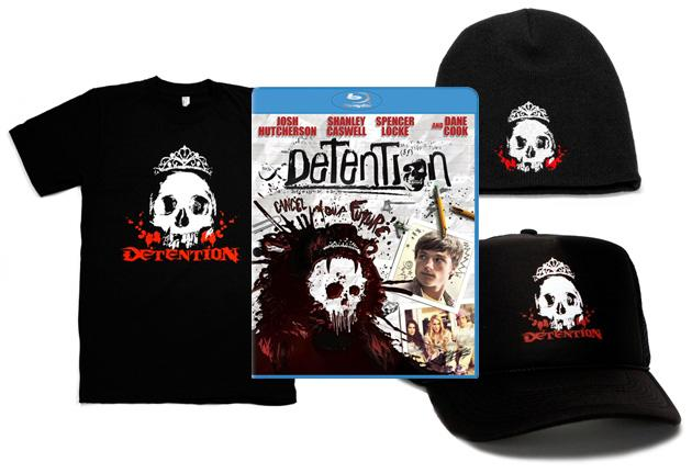 Detention Blu-ray Prize Pack