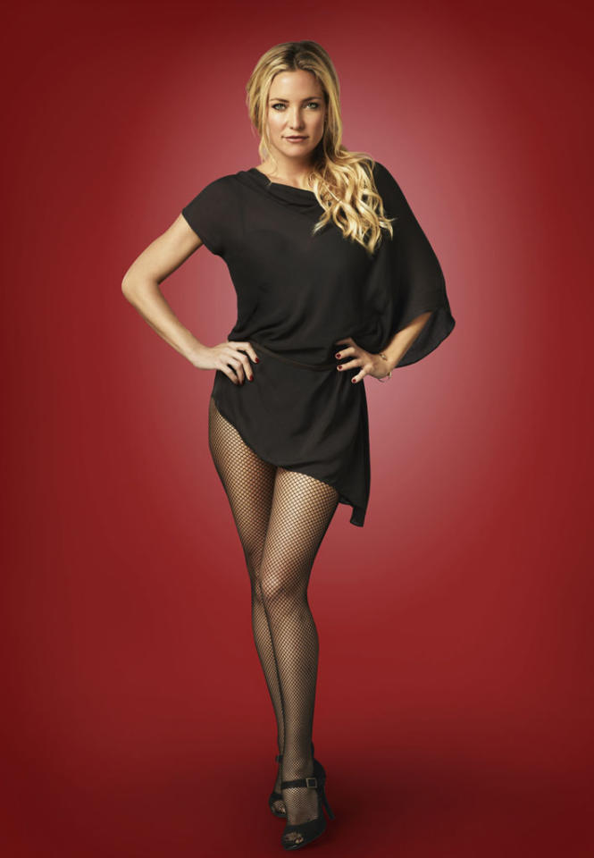 "Guest star Kate Hudson as Cassandra in ""Glee."""