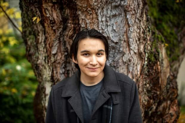 Jeremy Ratt is the host of a new CBC podcast called Pieces about his personal journey toward better understanding his Woods-Cree roots. He said that journey was helped by seeing Indigenous influencers on social media platforms like TikTok. (Ben Nelms/CBC - image credit)