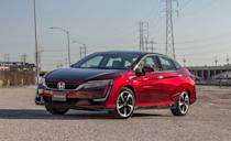 """<p>The <a href=""""https://www.caranddriver.com/honda/clarity"""" rel=""""nofollow noopener"""" target=""""_blank"""" data-ylk=""""slk:Honda Clarity"""" class=""""link rapid-noclick-resp"""">Honda Clarity</a> EV was <a href=""""https://www.caranddriver.com/features/g30168778/these-vehicles-are-dead-for-2020-discontinued/"""" rel=""""nofollow noopener"""" target=""""_blank"""" data-ylk=""""slk:discontinued in 2020"""" class=""""link rapid-noclick-resp"""">discontinued in 2020</a>, killing the only fully electric Honda in the United States market. And now, the remaining plug-in hybrid and hydrogen fuel-cell versions are gone too. Honda says the Clarity will be available as a lease through 2022, with Clarity FCV leases limited to California. The Clarity's departure leaves the <a href=""""https://www.caranddriver.com/hyundai/nexo"""" rel=""""nofollow noopener"""" target=""""_blank"""" data-ylk=""""slk:Hyundai Nexo"""" class=""""link rapid-noclick-resp"""">Hyundai Nexo</a> and <a href=""""https://www.caranddriver.com/toyota/mirai"""" rel=""""nofollow noopener"""" target=""""_blank"""" data-ylk=""""slk:Toyota Mirai"""" class=""""link rapid-noclick-resp"""">Toyota Mirai</a> as the only two FCVs available in the U.S. By that, we mean only in California. Although Clarity sales nearly matched the Chevrolet Bolt in 2019, last year wasn't as fruitful with just 1617 units moved. The Clarity FCV qualifies for up to $5000 in California <a href=""""https://www.caranddriver.com/news/a36562867/us-senate-panel-ev-tax-credit-increase/"""" rel=""""nofollow noopener"""" target=""""_blank"""" data-ylk=""""slk:Clean Vehicle rebates"""" class=""""link rapid-noclick-resp"""">Clean Vehicle rebates</a>, an HOV lane pass, and a fuel card for $15,000 worth of hydrogen fuelling from Honda. The silver lining here is that Honda is likely making room for new models as part of their plan to <a href=""""https://www.caranddriver.com/news/a36209632/honda-ev-committment/"""" rel=""""nofollow noopener"""" target=""""_blank"""" data-ylk=""""slk:sell only battery-electric and hydrogen vehicles by 2040"""" class=""""link rapid-noclick-resp"""">sell only battery-electric and hydrogen v"""
