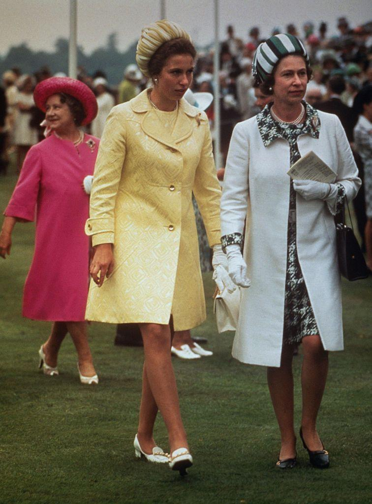 <p>At the Royal Ascot with Queen Elizabeth.</p>