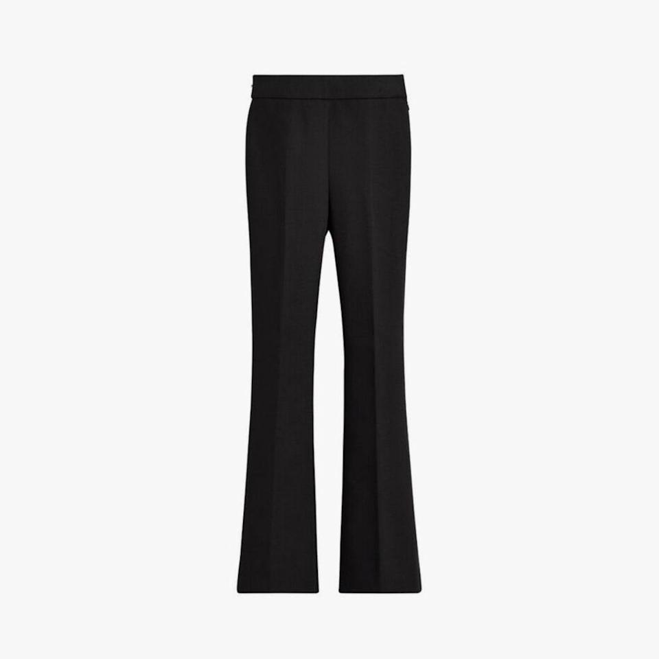 "$195, CUYANA. <a href=""https://www.cuyana.com/clothing/pants-and-leggings/cotton-twill-flared-pant/20083096-001-N10.html?utm_source=google&utm_medium=cpc&gclid=CjwKCAjw6fCCBhBNEiwAem5SO5vAalqVowUo-NhVIKFgS94Qgdc6MzadIRQBGg0b1eqXfrs0GQylZBoCVj8QAvD_BwE"" rel=""nofollow noopener"" target=""_blank"" data-ylk=""slk:Get it now!"" class=""link rapid-noclick-resp"">Get it now!</a>"