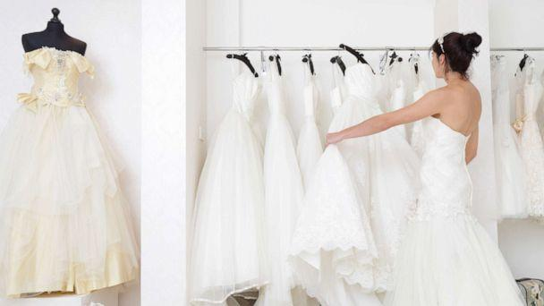 PHOTO: A woman looks for a wedding dress in a stock photo. (STOCK PHOTO/Getty Images)