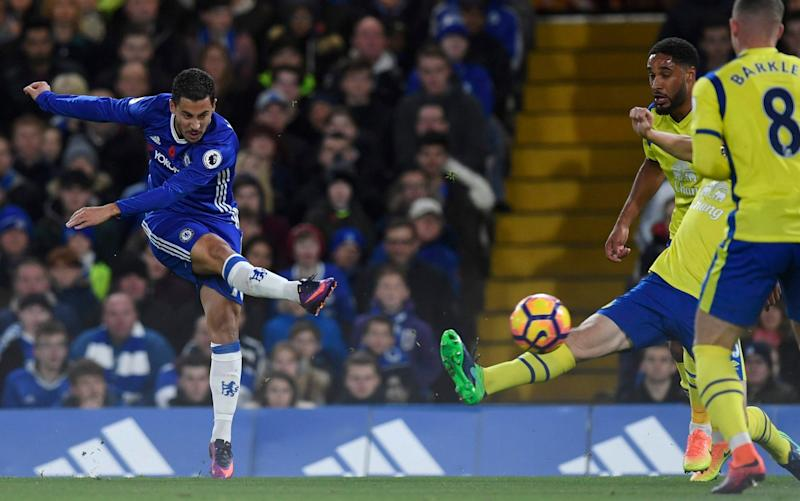 Chelsea stuck five goals past Everton in their last meeting - EPA