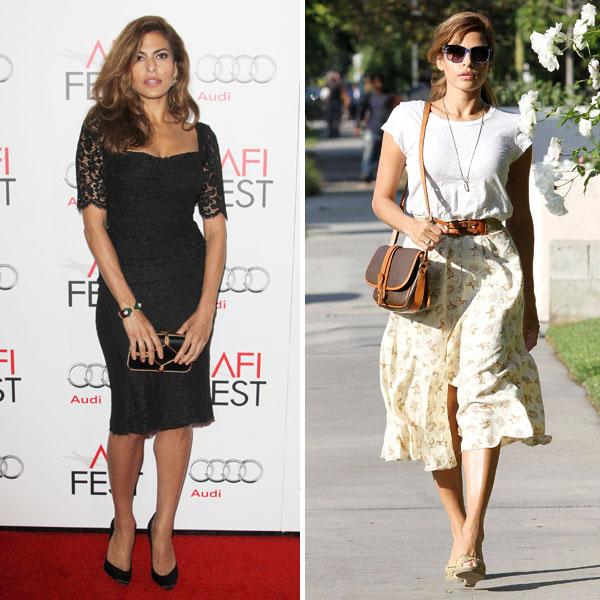 "<b>Eva Mendes</b><br><br>The <i>Hitch</i> actress – and lucky girlfriend of Hollywood heartthrob Ryan Gosling – looked equally stunning on and off the red carpet this week. First, proving her fashion credentials at a screening of <i>Holy Motors</i> in LA, she wore a black, lace Dolce & Gabbana dress teamed with simple black Brian Atwood pumps and matching Sergio Rossi clutch. We loved her casual, 50s style too as she ran errands in LA (right). Does this girl have it all?<br><b><br>[Related: <a href=""http://uk.lifestyle.yahoo.com/photos/this-week-s-10-best-dressed-celebrities-17-24-aug-slideshow/eva-mendes-photo-1345822591.html"">Eva Mendes - This week's 10 best dressed celebrities 17-24 Aug</a>]</b>"