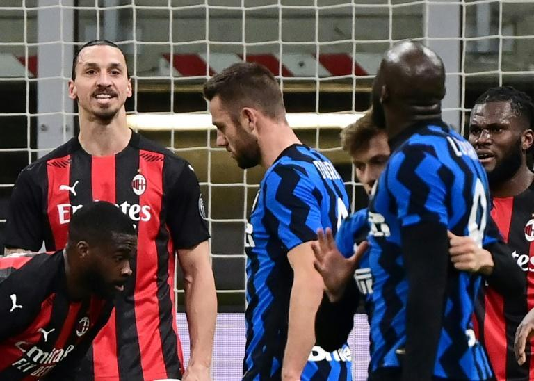 Zlatan Ibrahimovic and Romelu Lukaku almost came to blows in the last, heated Milan derby in January