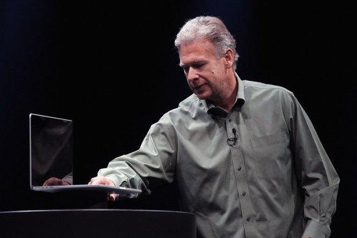 Apple Senior Vice President of Worldwide product marketing Phil Schiller announces the new MacBook Pro