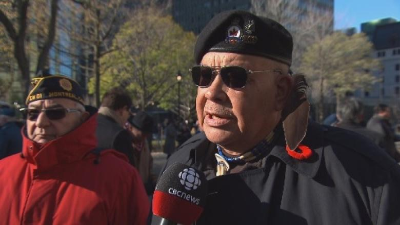 'It's always in your heart': Montrealers pay respects at Remembrance Day ceremony