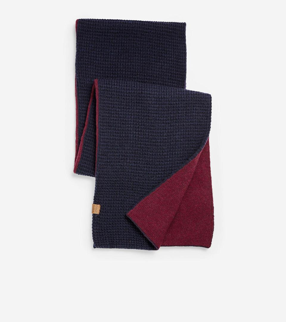 """<p>colehaan.com</p><p><strong>$98.00</strong></p><p><a href=""""https://go.redirectingat.com?id=74968X1596630&url=https%3A%2F%2Fwww.colehaan.com%2Fgrandseries-reversible-scarf-navy%2FF11774.html&sref=https%3A%2F%2Fwww.menshealth.com%2Ftechnology-gear%2Fg34497236%2Fbest-gifts-for-brother%2F"""" rel=""""nofollow noopener"""" target=""""_blank"""" data-ylk=""""slk:BUY IT HERE"""" class=""""link rapid-noclick-resp"""">BUY IT HERE</a></p><p>A wool scarf is a winter necessity. This great option from Cole Haan is reversible, so he can wear it with just about anything and be prepared for the harsh winter that lies ahead. Help him become the dapper dude you always knew he could be.</p>"""