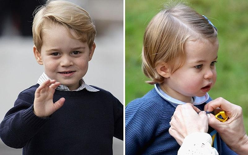 Prince George and Princess Charlotte have been given key roles at the wedding of Pippa Middleton and James Matthews - Copyright (c) 2016 Rex Features. No use without permission.
