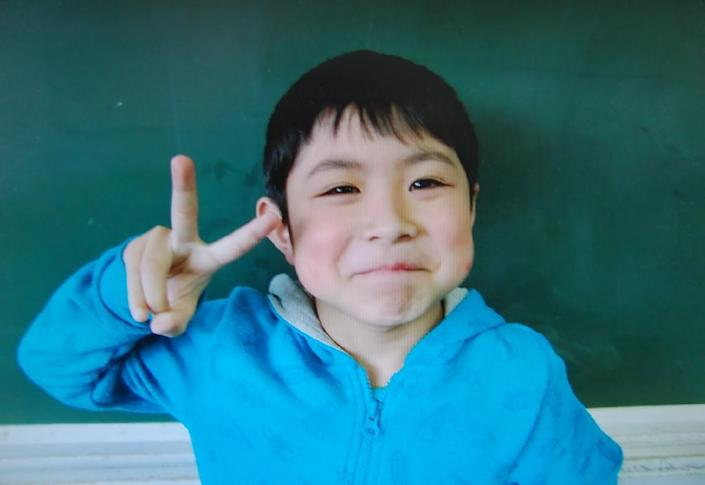 Yamato Tanooka -- seen here in a school photo -- survived for six nights alone in bear-inhabited woods (AFP Photo/)