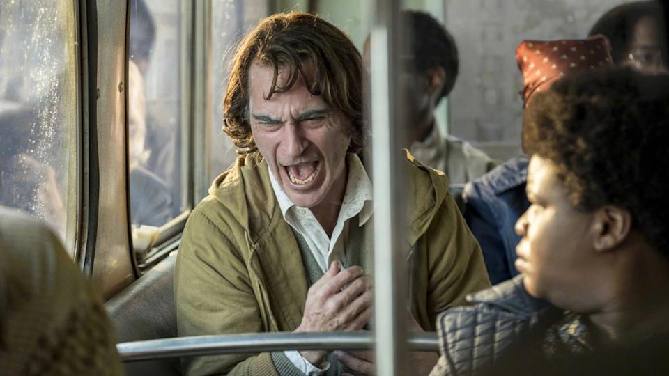 Arthur Fleck (Joaquin Phoenix) in 'Joker' has a condition that causes him to laugh involuntarily.