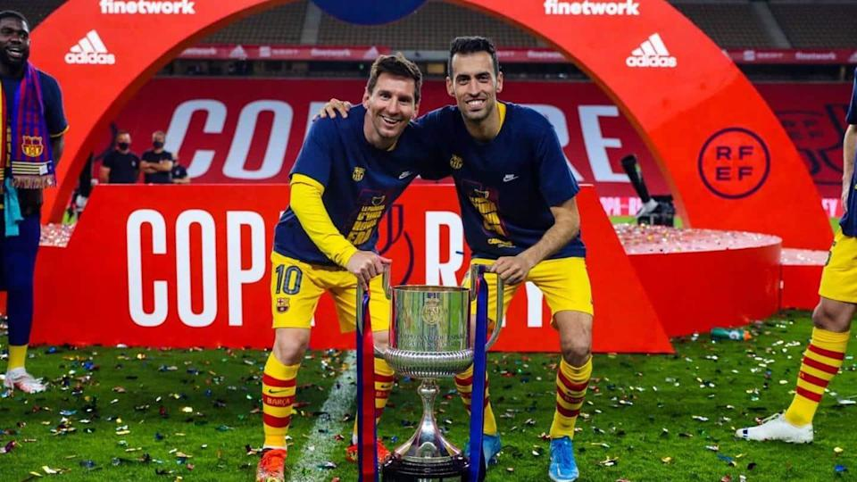 Copa del Rey: Barcelona win trophy after beating Athletic Bilbao