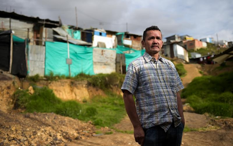 Jose Pineda fled southeast Colombia four years ago after being brutally  interrogated about his alleged ties