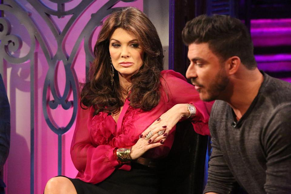 """<p>Whether it's not inviting another cast member to a party or not going to an event they're hosting, cast members can avoid filming with people they're feuding with. Jax Taylor came under fire after his costar Billie Lee <a href=""""https://www.eonline.com/uk/news/1160046/vanderpump-rules-billie-lee-says-jax-taylor-quot-refused-to-film-quot-with-her-because-she-s-transgender"""" rel=""""nofollow noopener"""" target=""""_blank"""" data-ylk=""""slk:made accusations"""" class=""""link rapid-noclick-resp"""">made accusations</a> that he refused to film with her.</p>"""