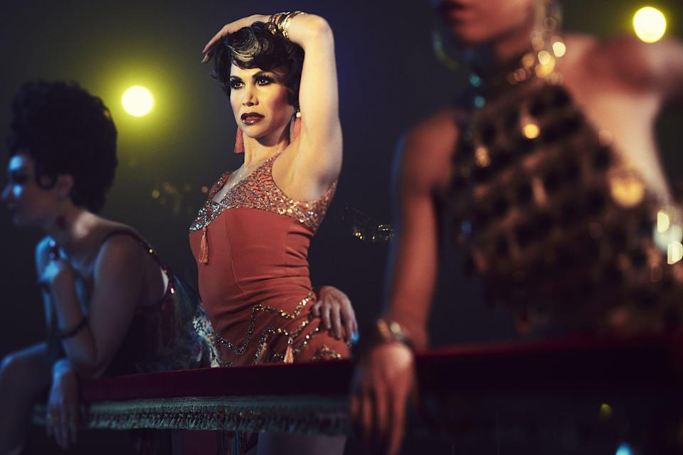 "<p>Like any good musical work, <a href=""https://www.townandcountrymag.com/leisure/arts-and-culture/a23801557/fosse-verdon-michelle-williams-sam-rockwell-tv-show/"" rel=""nofollow noopener"" target=""_blank"" data-ylk=""slk:Fosse/Verdon lures"" class=""link rapid-noclick-resp""><em>Fosse/Verdon</em> lures</a> its audience in with sumptuously produced numbers, layering song and dance over exposition. But the show's task is more unique than most: filming what was already iconic. And often, rather than offering its own twist, <a href=""https://www.townandcountrymag.com/leisure/arts-and-culture/g26885196/fosse-verdon-cast/"" rel=""nofollow noopener"" target=""_blank"" data-ylk=""slk:Fosse/Verdon strives to recreate every detail"" class=""link rapid-noclick-resp""><em>Fosse/Verdon</em> strives to recreate every detail</a> of <a href=""https://www.townandcountrymag.com/leisure/arts-and-culture/a27008914/bob-fosse-gwen-verdon-relationship/"" rel=""nofollow noopener"" target=""_blank"" data-ylk=""slk:Bob Fosse and Gwen Verdon"" class=""link rapid-noclick-resp"">Bob Fosse and Gwen Verdon</a>'s choreography, remake every stitch of the costumes and every inch of the sets. Below, see how the original versions compare to the series's takes.</p>"
