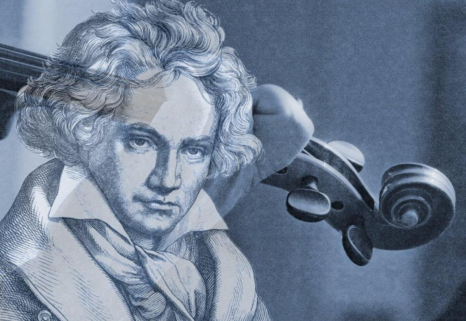 """<span class=""""attribution""""><a class=""""link rapid-noclick-resp"""" href=""""https://www.publicdomainpictures.net/en/view-image.php?image=239318&picture=violinist-playing-with-beethoven"""" rel=""""nofollow noopener"""" target=""""_blank"""" data-ylk=""""slk:Circe Denyer""""> Circe Denyer</a></span>"""