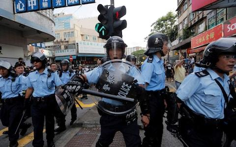 Major demonstrations in the past month against a proposal to change extradition laws have reawakened other movements in Hong Kong - Credit: AP