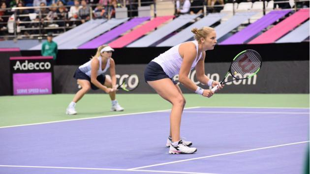<p>United States win first Fed Cup title since 2000</p>