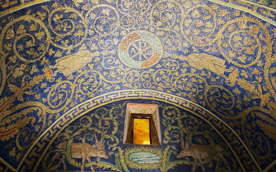 The remarkable Mausoleum of Galla Placidia - Getty