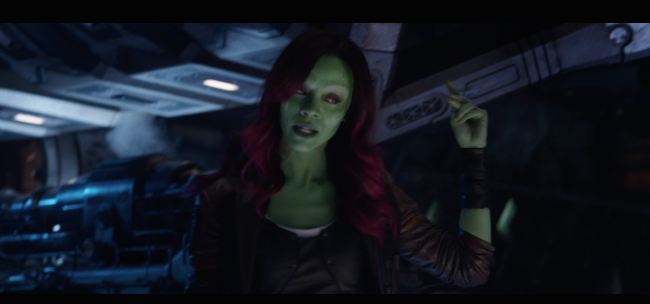 "<p>""The entire time I knew him he only ever had one goal – to wipe out half of the universe. If he gets all the infinity stones, he can do it with the snap of his fingers, just like that.""<br />Looks like Gamora's going to be on exposition duties in Infinity War – which makes sense, as his favourite daughter, she knows him best. </p>"