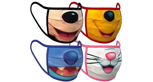 The face coverings are only available in North America so far. (ShopDisney)