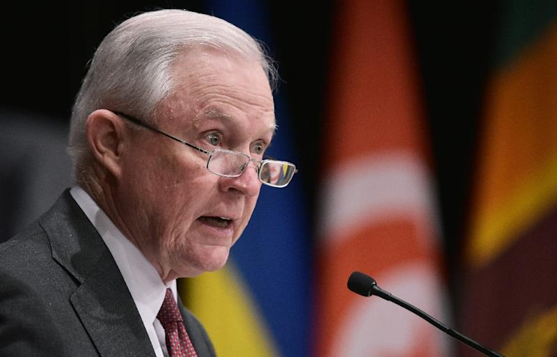 "US Attorney General Jeff Sessions says a surveillance law approved by lawmakers is ""crucial to allowing us to continue to gather intelligence on foreign terrorists overseas and foil potential plots"""