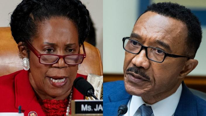 Rep. Sheila Jackson Lee and Rep. Kweisi MFume (Photo: Getty Images)