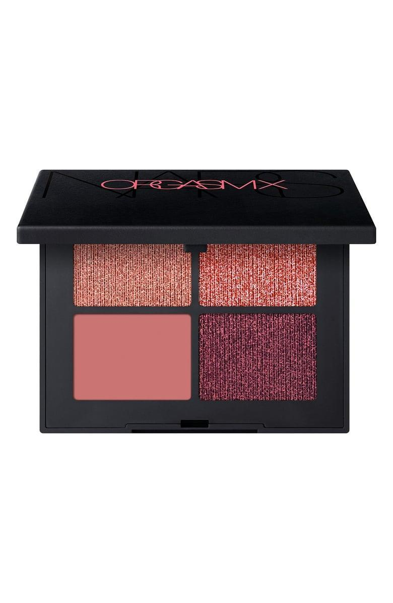 <p>Rock fabulous pink looks with the <span>Nars Orgasm Quad Eyeshadow</span> ($52).</p>