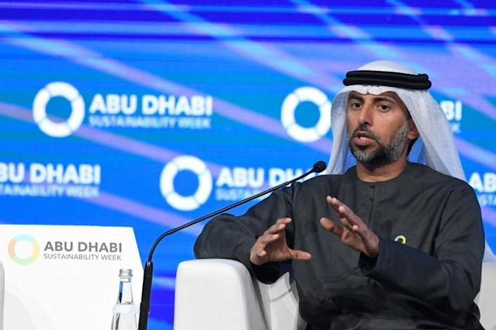 """Emirates Energy Minister Suhail Mohamed Al-Mazrouei said: """"It is unreasonable to accept further injustice and sacrifice -- we have been patient"""" with OPEC"""