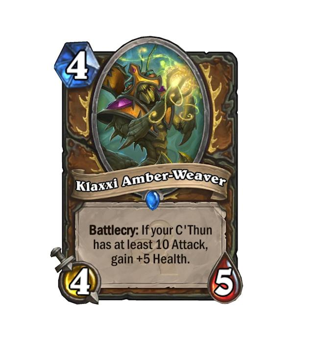 <p>How much you wanna bet that C'Thun will be hitting that 10 attack mark pretty regularly? This guy is more than willing to take you up on that.</p>