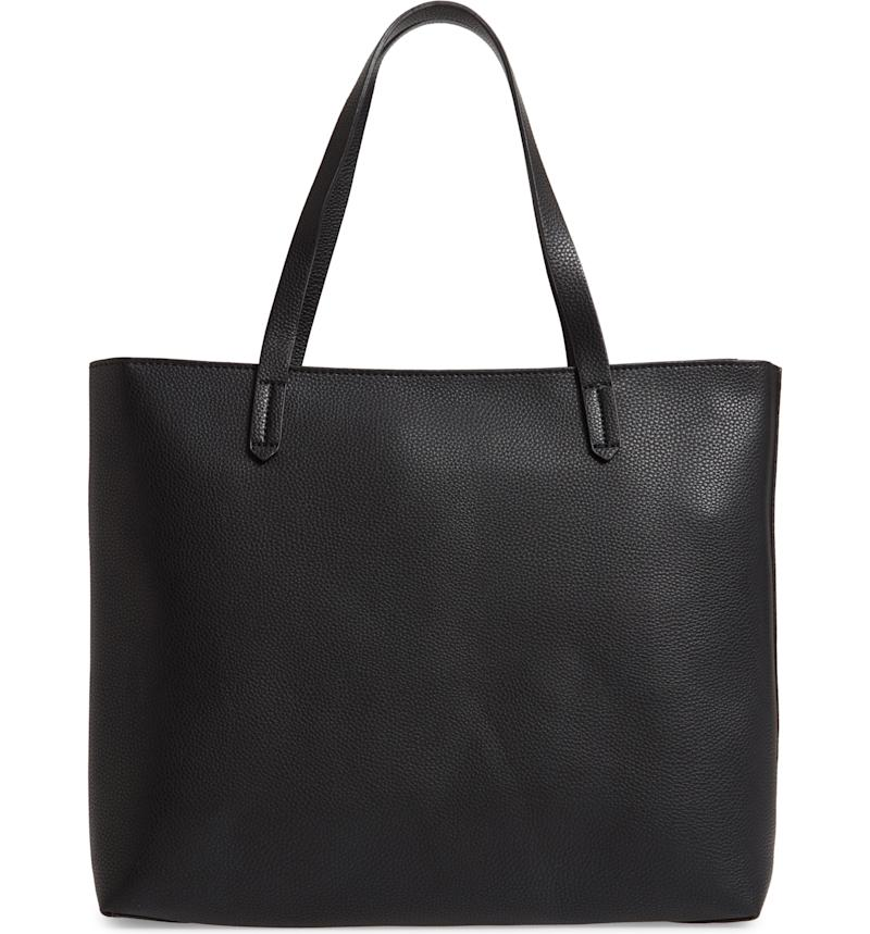 BP. Faux Leather Classic Tote
