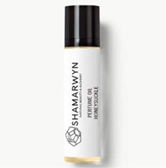 """This Texas-based Amazon Handmade shop specializes in organic skin and hair products. Find this <a href=""""https://amzn.to/3dGXLvj"""" rel=""""nofollow noopener"""" target=""""_blank"""" data-ylk=""""slk:honeysuckle perfume oil"""" class=""""link rapid-noclick-resp"""">honeysuckle perfume oil</a> for $18."""